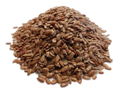 Graine de lin brun