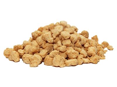 Protéine de soja texturée
